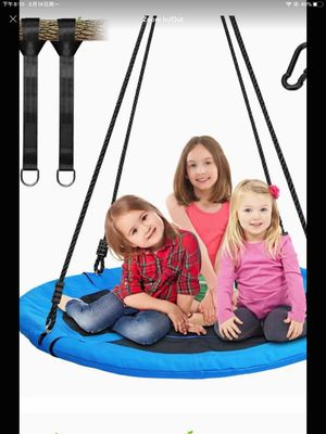 Saucer Tree Swing 40 Inch Diameter Round for Sale in Denville, NJ