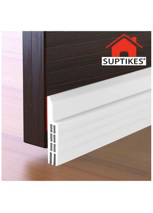 Suptikes Door Draft Stopper Under Door Seal for Exterior/Interior Doors, Door Sweep Strip Under Door Draft Blocker, Soundproof Door Bottom Weather St for Sale in Las Vegas, NV