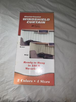 RV Motorhome Windshield Sunscreen Window Curtain - new for Sale in Las Vegas, NV