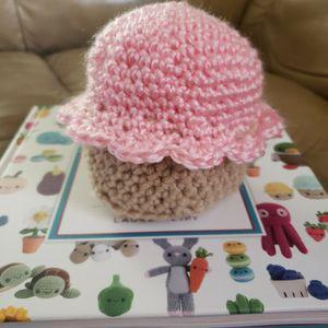Crochet Cupcake Plush Amigurumi for Sale in Commerce, CA
