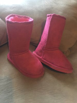 Toddler girls pink boots size 10 for Sale in Crosby, TX