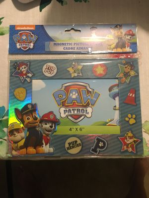 Paw Patrol Picture Frame for Sale in Vero Beach, FL
