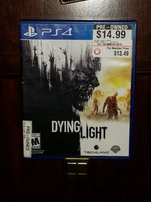 Dying Light PS4 for Sale in Durham, NC