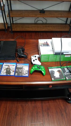 Ps4 xbox one bundle for Sale in Dallas, TX