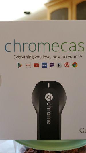 Google H2G2-42 Chromecast 1st Gen Black Google H2G2-42 Chromecast 1st Gen HDMI Streamer Global Version for Sale in Anaheim, CA