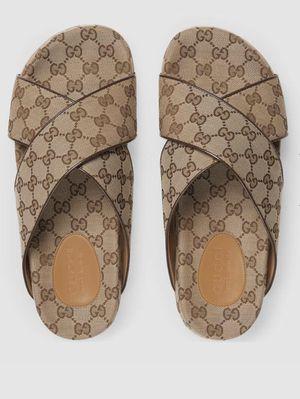 Men's GG slide sandals for Sale in Atlanta, GA