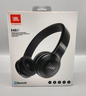 JBL E45BT On-Ear Wireless Headphones Blk for Sale in Florence, KY