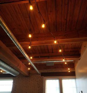 Outdoor/Indoor LED Hanging String Lights 48ft for Sale in Everett, MA