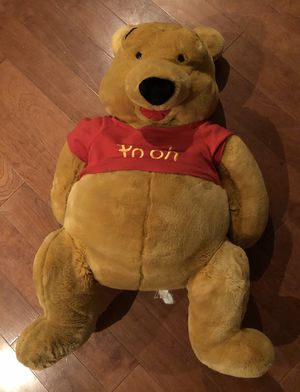 Vintage 36in Disney Winnie the Pooh Stuffed Animal for Sale in New Haven, CT