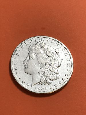 Beautiful 1884s silver Morgan Dollar for Sale in Lafayette, CA