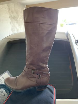 Brown leather boots for women for Sale in Riverside, CA