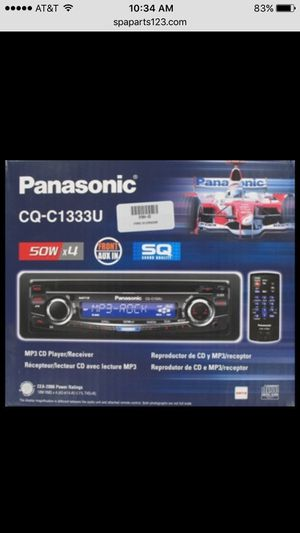Panasonic MP3 CD Player CQ-C1333U $25 for Sale in Portland, OR