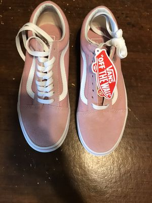 Womens vans size 8 brand new $40.00 for Sale in Imperial, CA