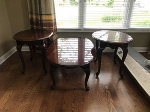 thomasville end table and coffee table set for Sale in Buffalo Grove, IL