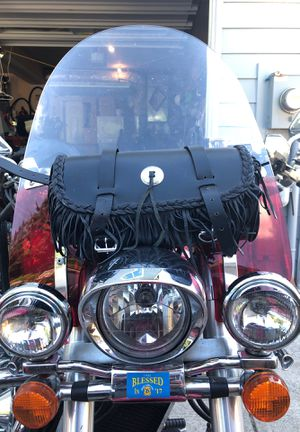 Motorcycle leather glove/tool bag for Sale in Edgewood, WA