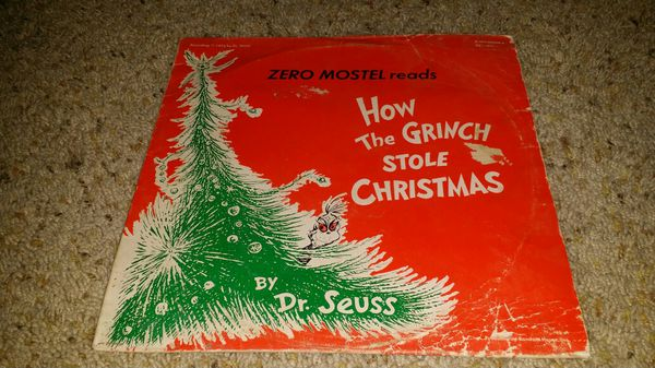 How the grinch stole Christmas lp