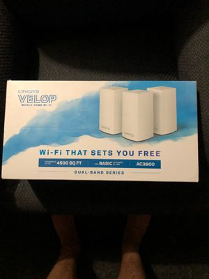 Linksys Velop Whole Home Wifi Extender for Sale in Toms River, NJ