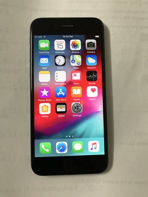 Unlocked iPhone 6 Space grey 16GB for Sale in Edison, NJ