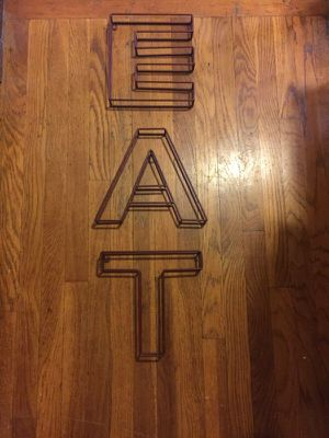 Hangable metal letters for Sale in Pittsburgh, PA