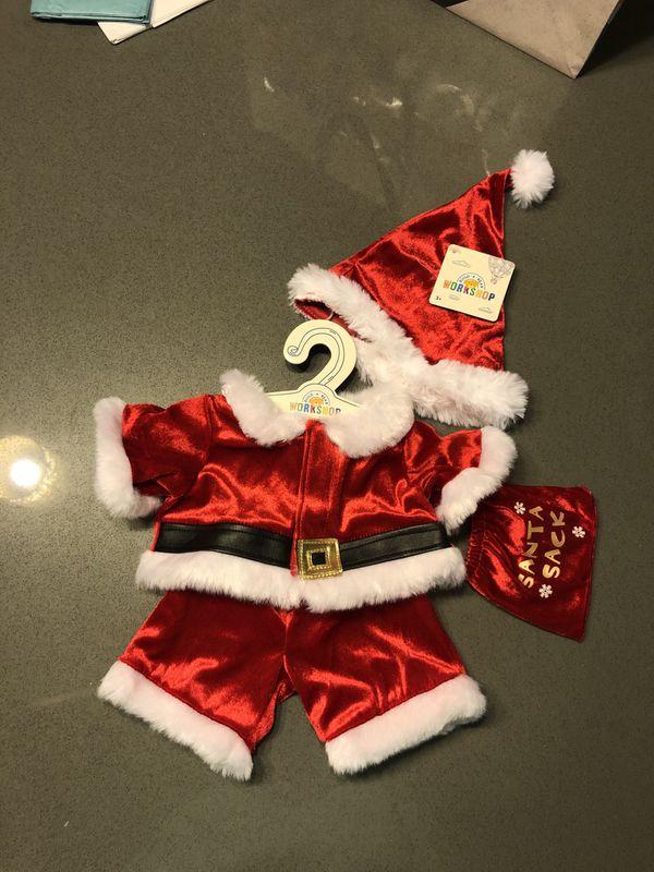 Build-A-Bear Santa Outfit