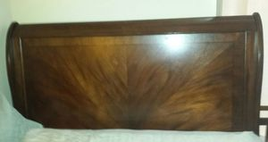 Queen Bed Frame Beautiful Wood for Sale in San Marcos, CA