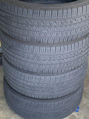 4 Tires 235/55R18 Goodyear still in good shape for Sale in Rialto, CA