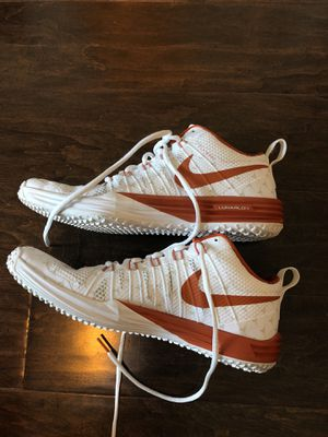 Nike Texas longhorn shoes size 9 for Sale in Austin, TX