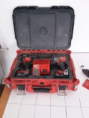 Milwaukee M18 fuel drill combo kit for Sale in New Lebanon, NY