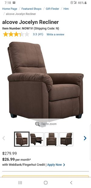 Alcove recliner.. BRAND NEW..can deliver for Sale in Euclid, OH