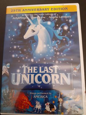 The LAST UNICORN 25th Anniversary Edition (DVD) for Sale in Lewisville, TX