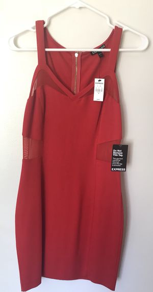 Brand new red dress - EXPRESS size 8 for Sale in Gaithersburg, MD