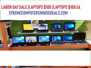 Labor Day Sale Computer Laptop $100Each for Sale in Kennedale, TX
