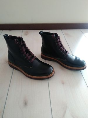 COACH Mens Black Leather Derby Boots Sz 9.5 for Sale in Fort Worth, TX