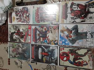 Deadpool variant comics for Sale in La Puente, CA