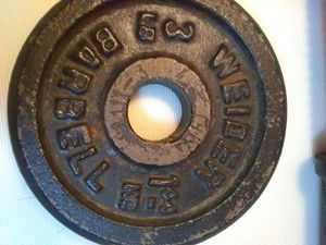 2-3lb. Weider Barbell plates for Sale in St. Peters, MO
