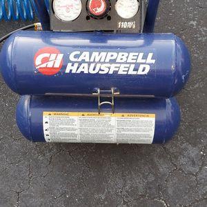 Campbell Hausfeld 110psi Compresser for Sale in Pompano Beach, FL