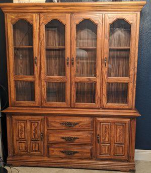 Beautiful curio cabinet for Sale in Cape Coral, FL