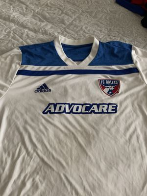 Fc dallas game jersey size L for Sale in Irving, TX
