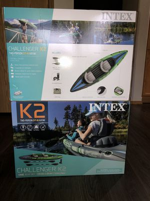 2 person inflatable kayaks for Sale in Portland, OR
