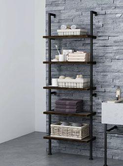 5-Tier Bookcase Bookshelf Wall Shelf Ladder Storage Rack Display Furniture Home for Sale in Pittsburg,  CA