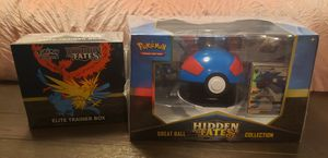 Hidden Fates Pokemon Sets for Sale in San Antonio, TX