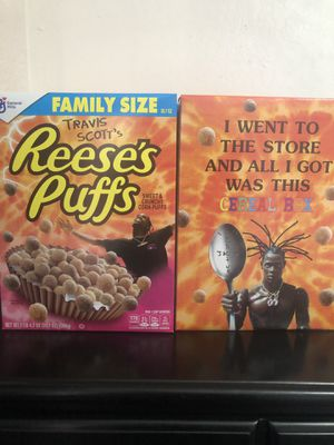 Limited Travis Scott cereal for Sale in Hayward, CA