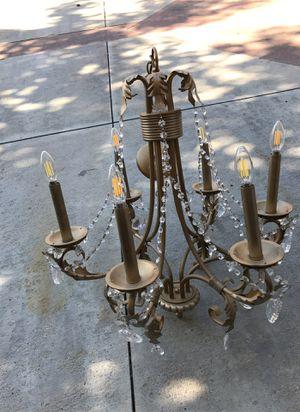 Gold chandelier for Sale in Stevenson Ranch, CA