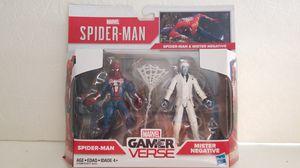 SPIDER-MAN & MISTER NEGATIVE Marvel Gamer Verse Hasbro action figure for Sale in Covina, CA