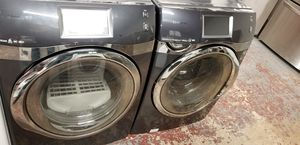 Samsung washer and dryer front load set high capacity with touch screen for Sale in San Antonio, TX