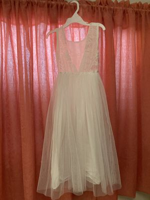 Off White Long Dress for kids for Sale in San Pedro, CA