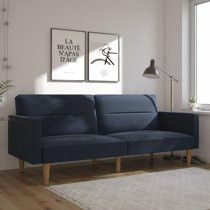 Mainstays Channel Sofa Bed, Navy. In box for Sale in Los Angeles, CA