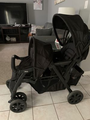 Chicco Cortina Together Double Stroller for Sale in Houston, TX