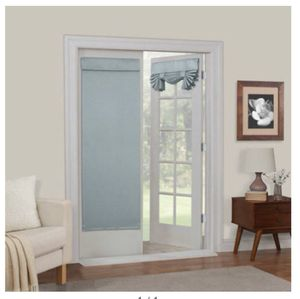 Mainstays Diamond Room Darkening French Door Panel, color: Spa for Sale in Greenville, MS