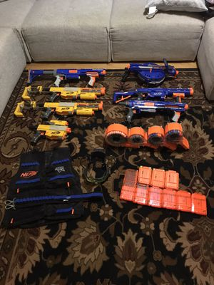 Nerf Lot, Great For Kids for Sale in Charlotte, NC